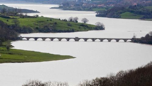 Rio Ebro en estos ultimos dias después de las lluvias