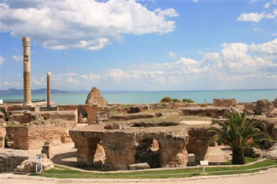 Termas romanas de Antonino, en Cartago.