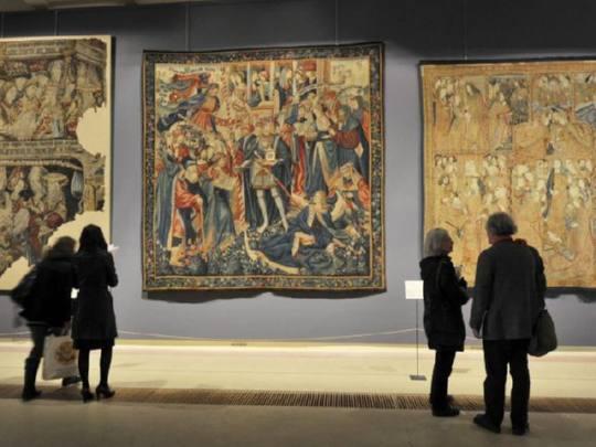 """Tapices españoles del Renacimiento, """"verdaderos tesoros"""" que llegan a París"""
