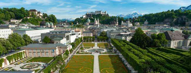 Parque Mirabell Salzburgo  � Tourismus Salzburg