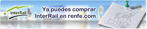 Compra tu InterRail en renfe.com