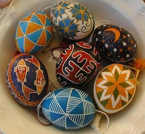 Huevos de Pacua Pysanky