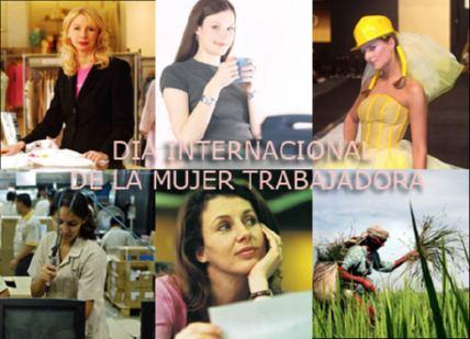 historia de la mujer trabajadora: