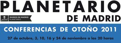 CONFERENCIAS DE OTOÑO 2011