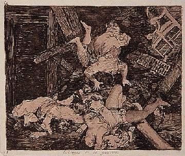Estragos de la guerra / Goya.