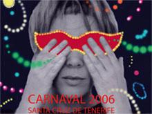 Cartel del Carnaval de Santa Cruz de Tenerife 2006