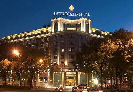 Hotel intercontinental madrid 5 for Hotel rural lujo madrid