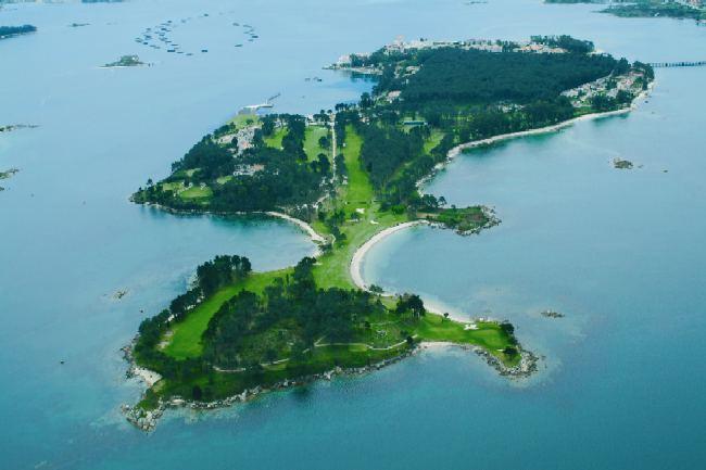 Galicia sur la isla de la toja for Hotel luxury la toja