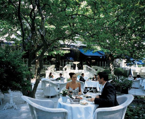 Hotel ritz madrid for Restaurante el jardin madrid