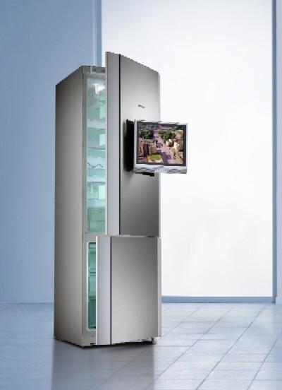 Frigor fico combinado con televisi n integrada y orientable kg 39 mt 90 - Frigorificos de diseno ...