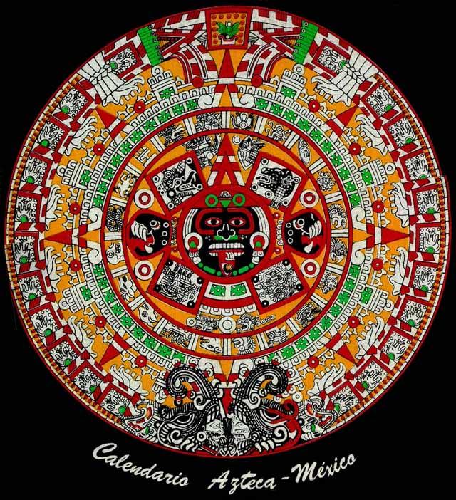 Calendario Azteca.Almanaques Y Calendarios Calendario Azteca